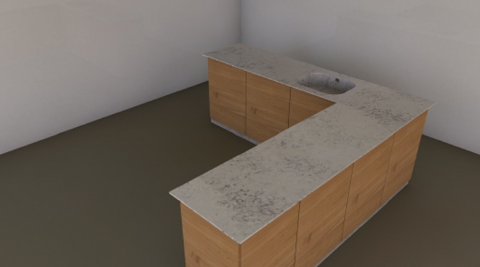 Personalized Design kitchen 3D