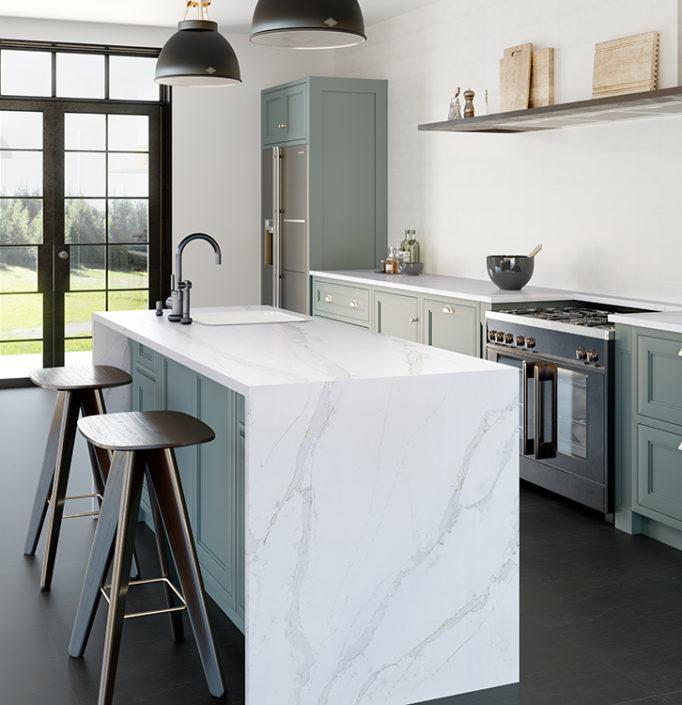 Silestone Kitchen - Eternal Calacatta Gold