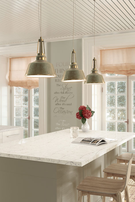 Silestone Kitchen - Eternal Pearl Jasmine