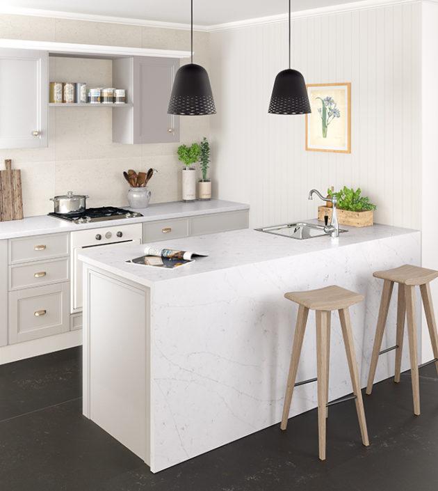 Silestone Kitchen - Eternal Statuario