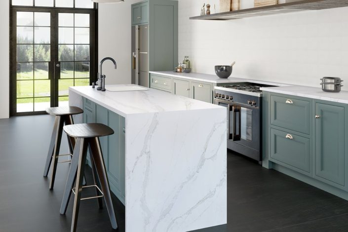 Silestone-Kitchen-Eternal-Calacatta-Gold