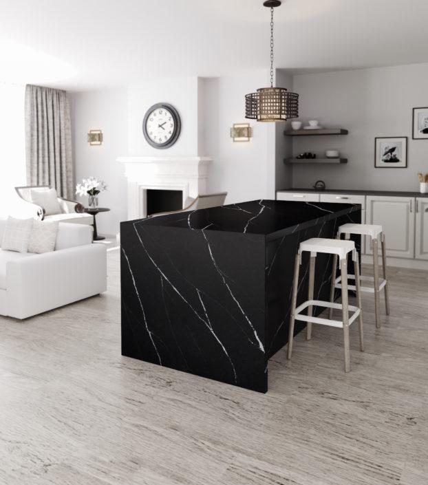 Silestone-Kitchen-Eternal-Marquina